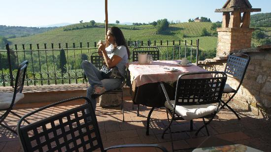 Podere Montese: Breakfast