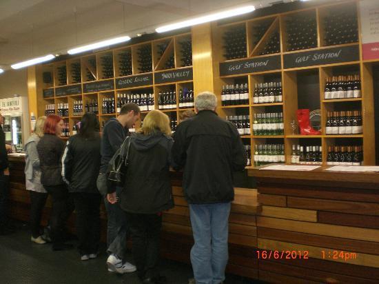 Yarra Valley: De Bortoli - we were given to taste their award winning dessert wine free.. nice & sweet..wine&s