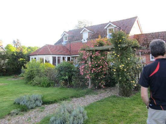 Scotland Lodge Farm: Im Garten