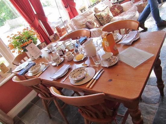 Scotland Lodge Farm: Frühstück