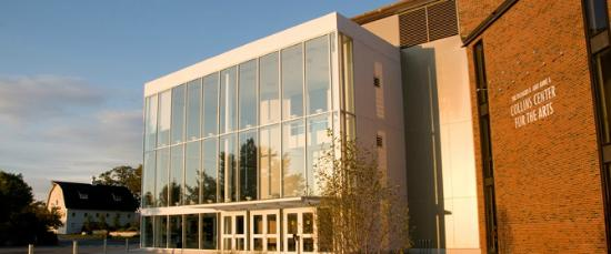 Hudson Museum at the University of Maine : Collins Center for the Arts (Day time)