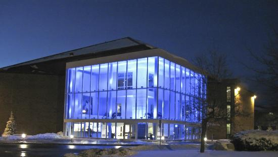 Hudson Museum at the University of Maine : Collins Center for the Arts (Night Time)