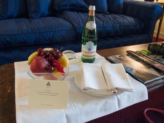 Hotel Lungarno : Special Treat Awaited Us