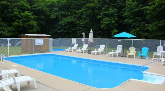 Lakeview Motel & Cottages: Heated pool