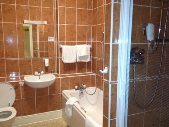 Elfordleigh Hotel : posh bathroom