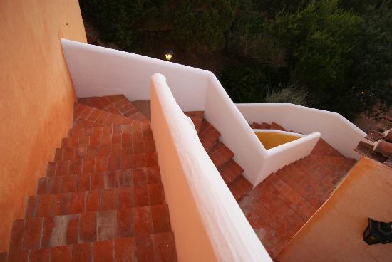 Saraceno Villagge Boschetto Holiday Apart-Hotel: Le scale della Torre