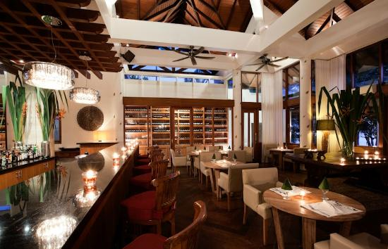 Baan Aarya : The bar and wine cellar