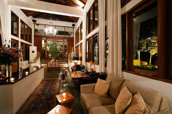Baan Aarya : The reception hall