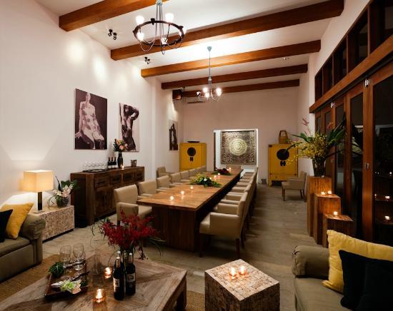Baan Aarya : The private dining room