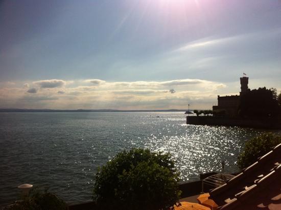 seevital Hotel Schiff Langenargen: Blick aus einem Zimmer seewärts