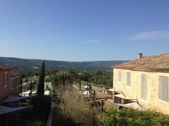 Gargas, France: Der Blick, ein Traum ...