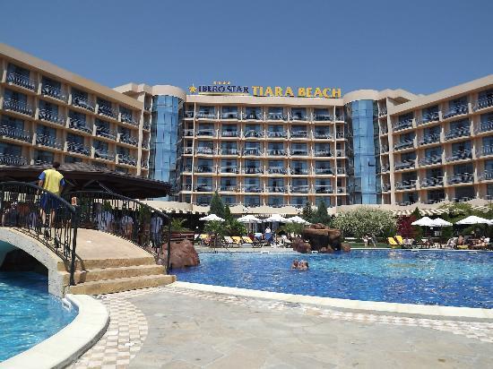 Tiara Beach: the hotel