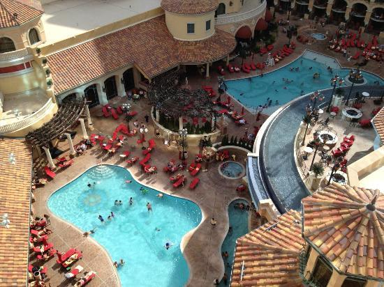 Peppermill Resort Spa Pool View