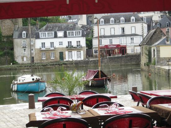 Le Chasse Maree: View from our table