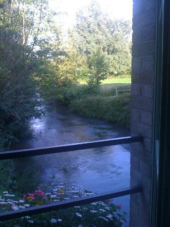 Le Moulin de Mombreux : View from bedroom on ground floor