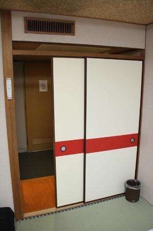 Hotel Sanoya: Front door