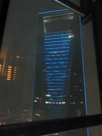 Cloud 9 (Grand Hyatt Shanghai) : Vistas desde Club Cloud 9,en Torre Jinmao
