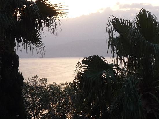 Rimonim Mineral Tiberias : Lake view from hotel balcony