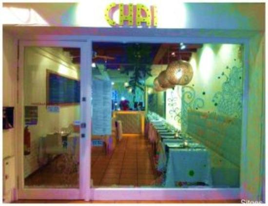 Chai Indian Restaurant Sitges : Outside Chai