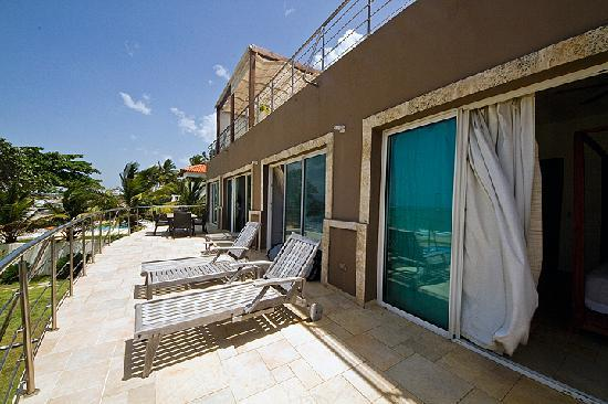 Porta Del Mare: terrace in 3BR apartment