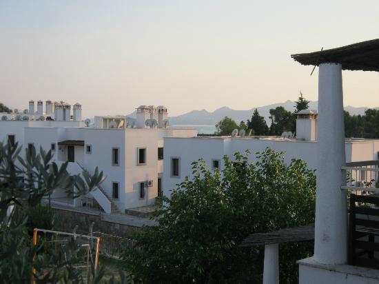 Romantik Apart: Vy från balkongen