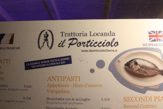 Hotel Marina Piccola: Trattoria Locanda Il Porticciolo: A fantastic place to eat a couple of doors up from the hotel