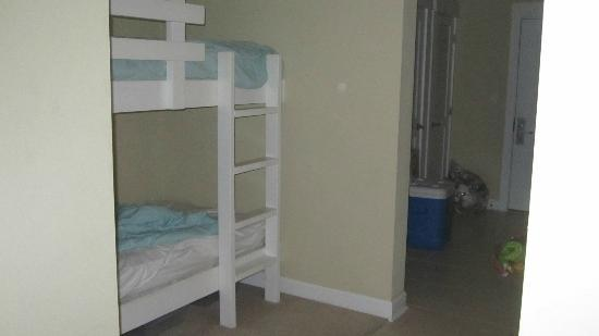 Grand Panama Beach Resort: Kids bunk beds