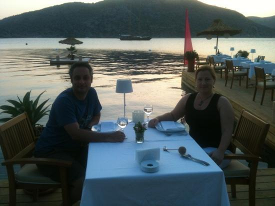 Karia Bel' Hotel & Restaurant: dinner