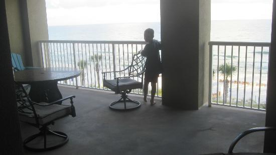 Grand Panama Beach Resort: spacious balcony
