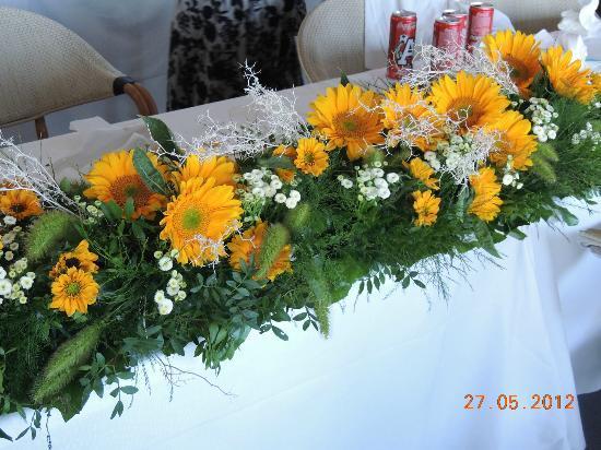 Ristorante La Pergola : flowers for special occasions
