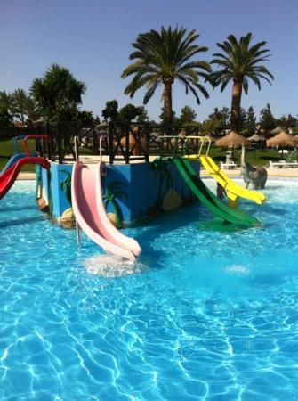 Mijas, Spain: kids small slides