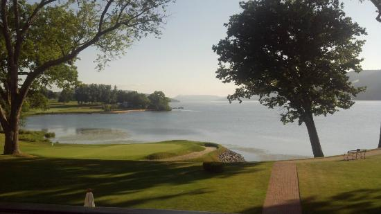 The Otesaga Resort Hotel: View from the Otesaga's veranda