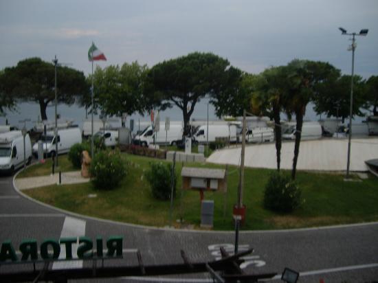 Hotel San Marco: Blick vom Balkon Zimmer 5