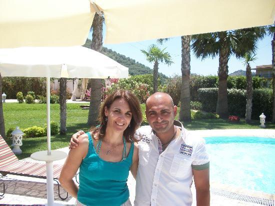 Alcantara Resort : our friend Angelo!