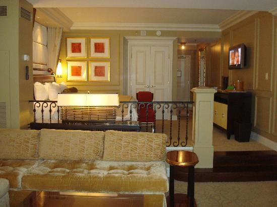 Wonderful The Venetian Las Vegas: Living Room Looking Toward Raised Sleeping Area Part 16