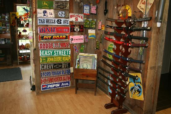 Gift Shop at Mystery Hill
