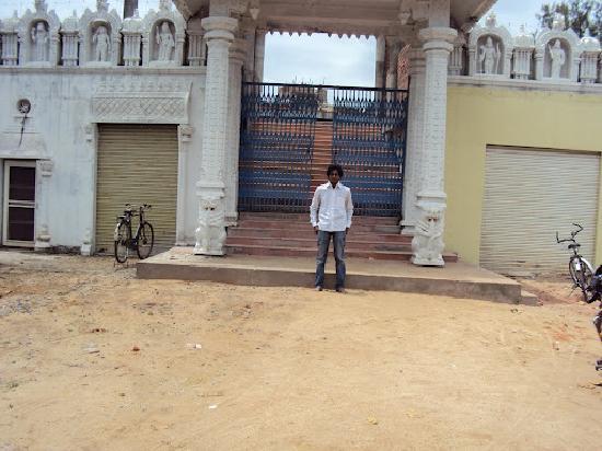 ISKCON Warangal Temple: Main Temple Entrance
