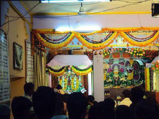 ISKCON Warangal Temple: Inside the Temple
