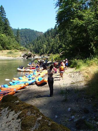 Orange Torpedo Rafting Trips: Great lunches on river even accommodated my gluten free husband
