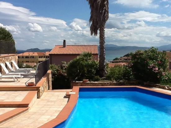Sardinia Blu Residence : View from courtyard