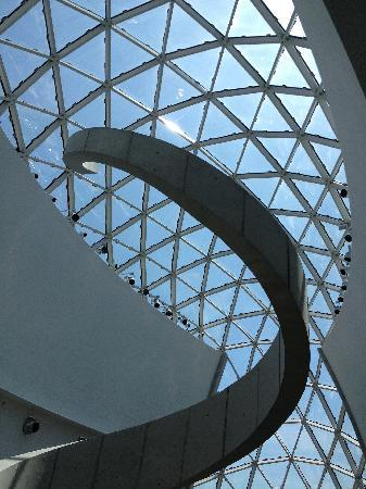 The Dali Museum: what I call the stairs to infiity
