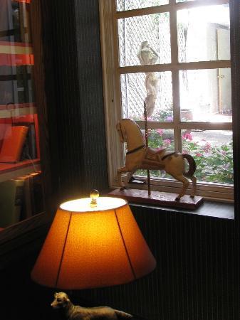White Swan Inn: Sitting room