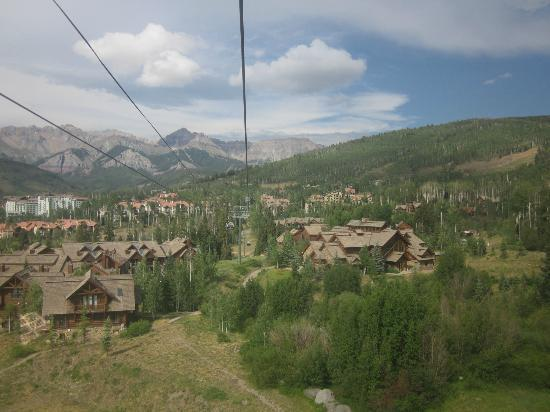 Mountain Lodge Telluride, A Noble House Resort: Mountain Lodge on the right