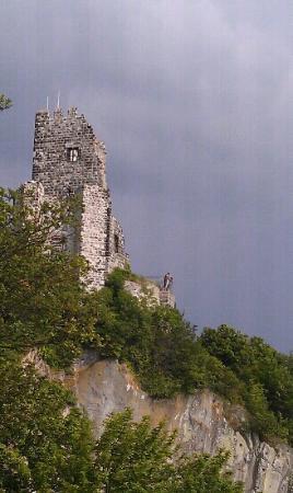 Königswinter, Duitsland: castle ruins
