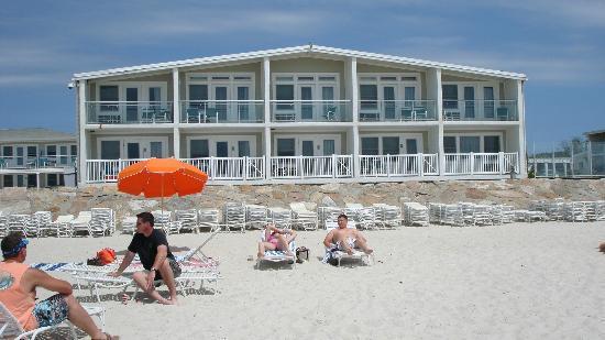 Sea Crest Beach Hotel: Beach front rooms