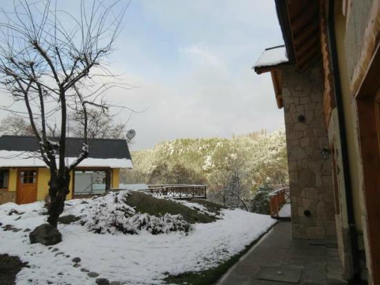 Apart Peumayen: vista desde la cabaña