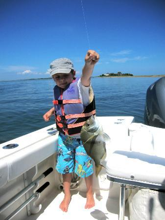 Plan Sea Adventures Boat Charters: Capt. Dave knew exactly where to go to hook some nice ones!