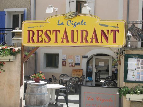 La Cigale: Vue extérieure du restaurant