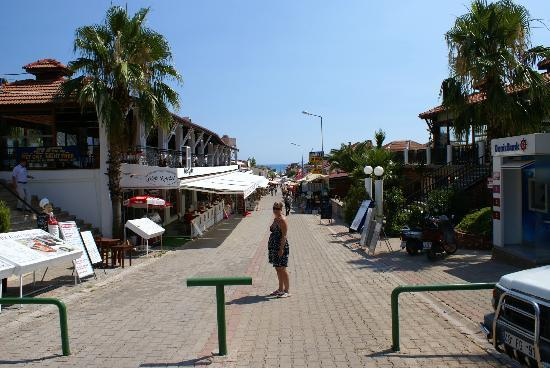 Karbel Beach Hotel: Main Strip of Oludeniz