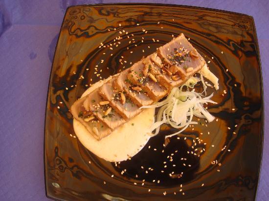 Restaurante Clandestino Zahara: Tataki de atún